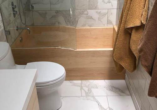 Beste Maple Wooden Bathtub