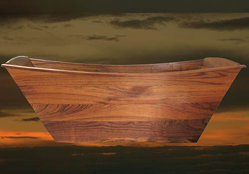 Fabulous wooden teak bathtub