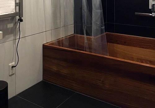 Deluxe King Address Akakura Wooden Bathtub